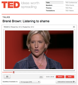 TED: Brené Brown
